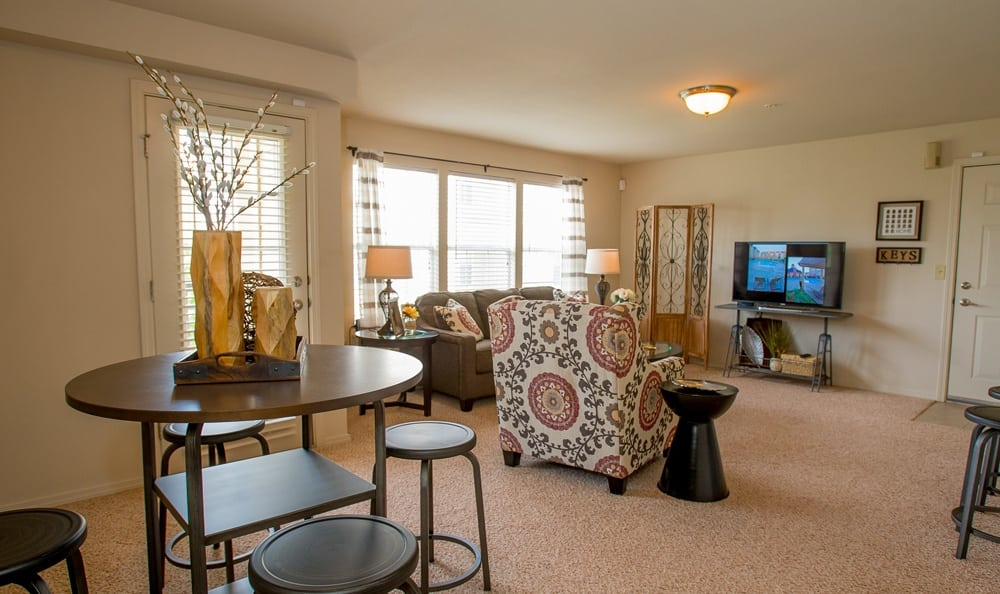 Comfortable living at apartments in Owasso