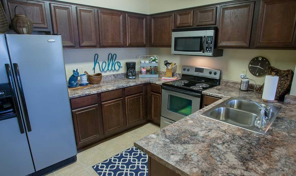Kitchens at Park at Mission Hills