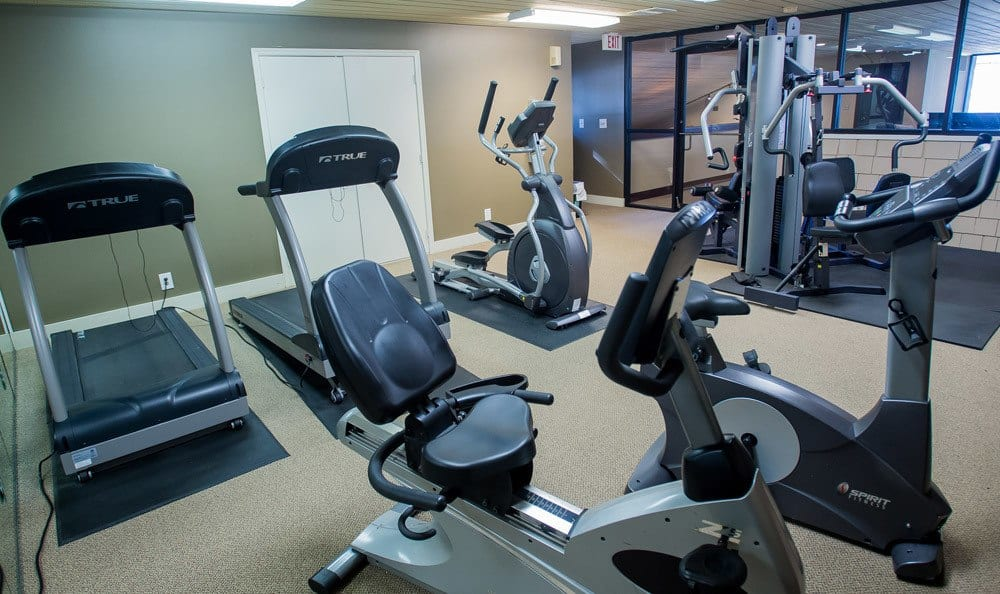 Fitness Center at Sunchase Apartments in Tulsa