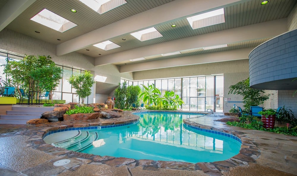 Large Indoor Pool at Sunchase Apartments