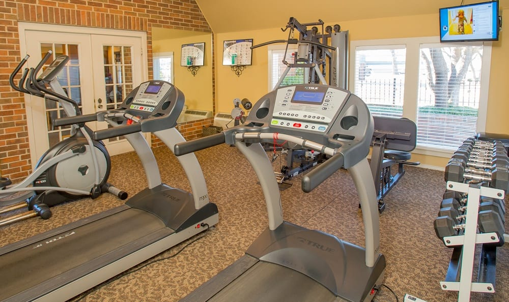 Fitness Center at Tulsa apartments