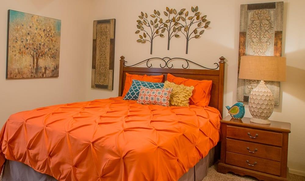 Bedroom 2 at Tulsa apartments