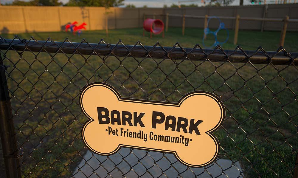 Bark Park at Portofino Apartments