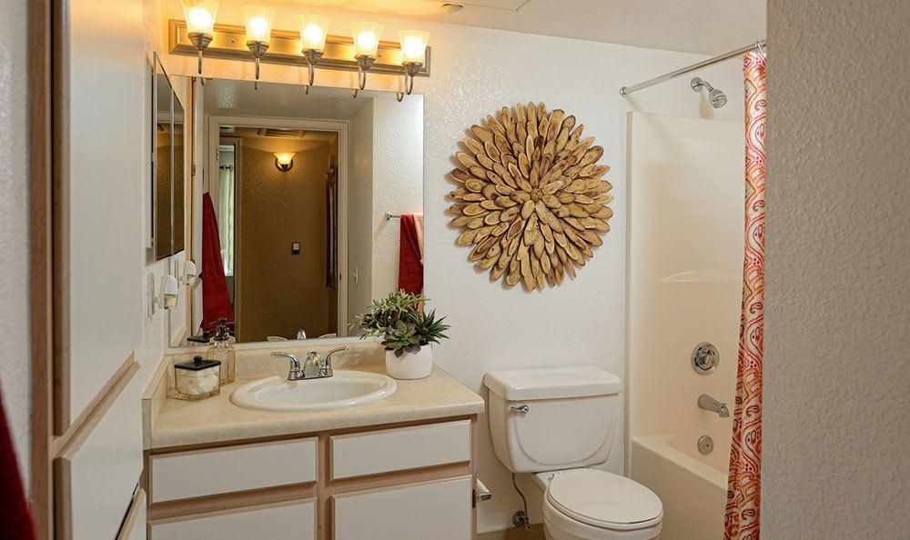 Modern bathroom in El Paso