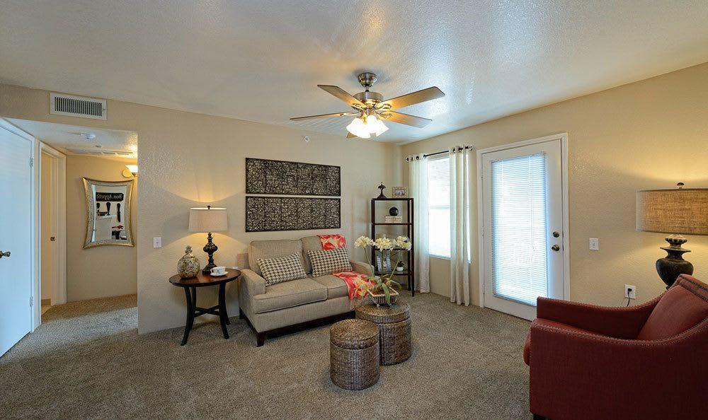 Bright living area in El Paso
