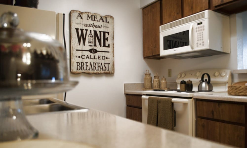 Kitchen of our El Paso, TX leasing center