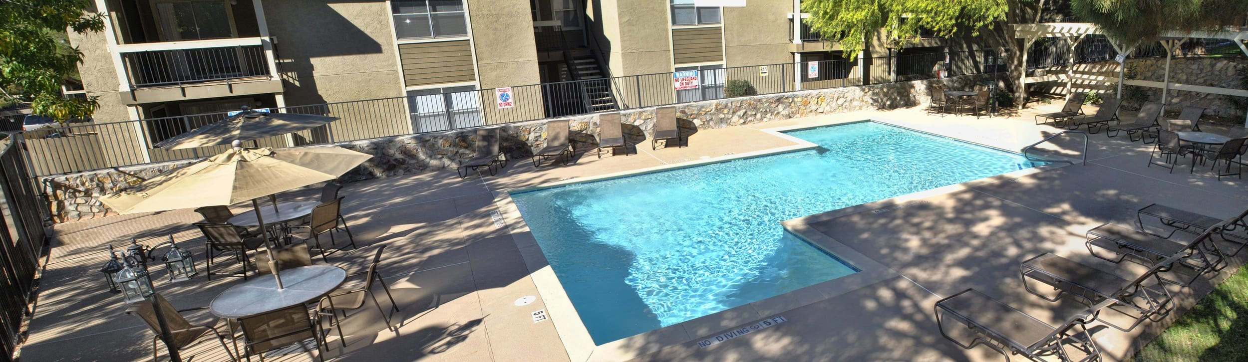 Our apartments in El Paso offer resort-style amenities for our residents
