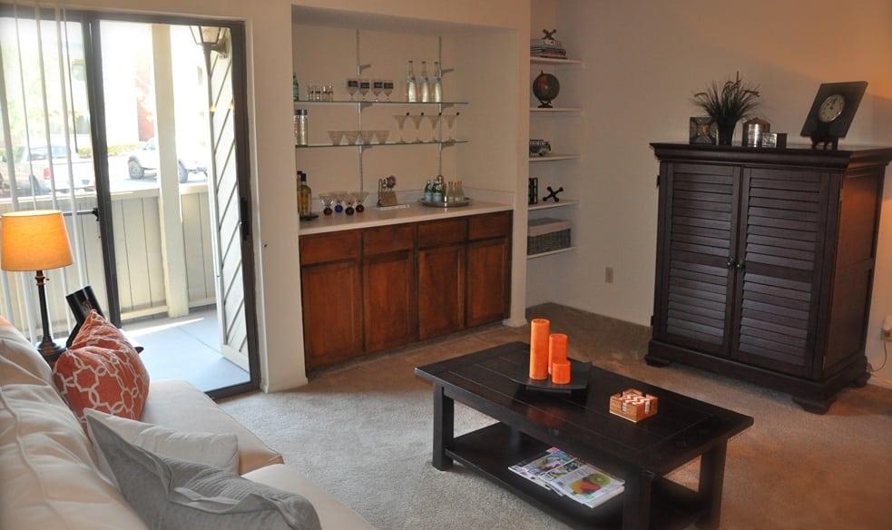 Apartment interior at our El Paso apartments