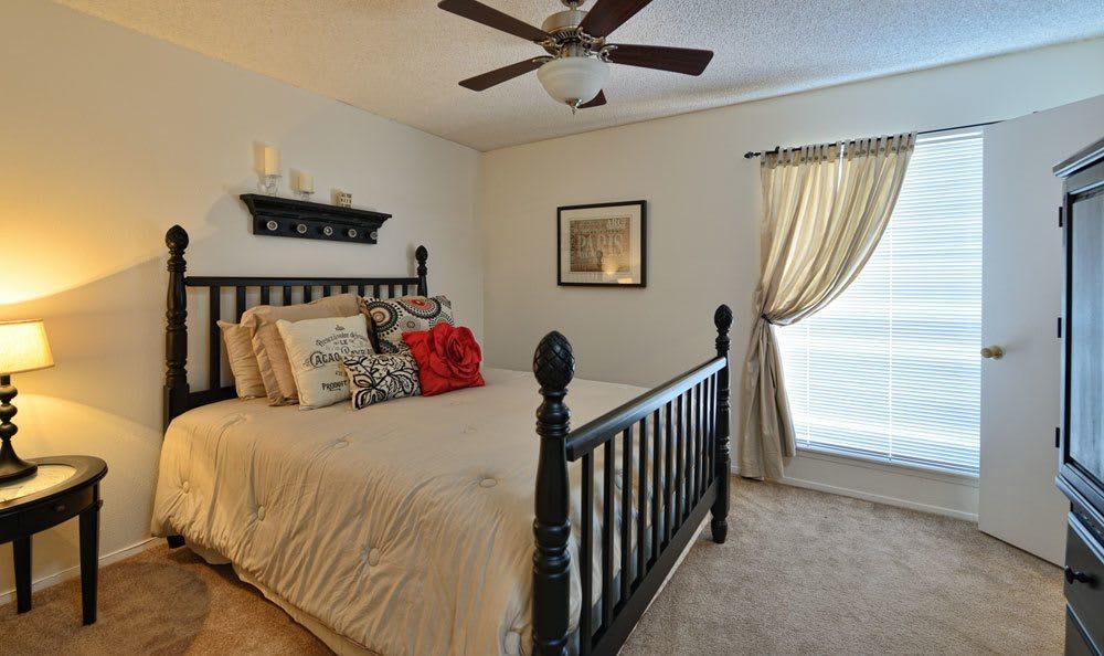 Comfortable bedroom at our El Paso apartments