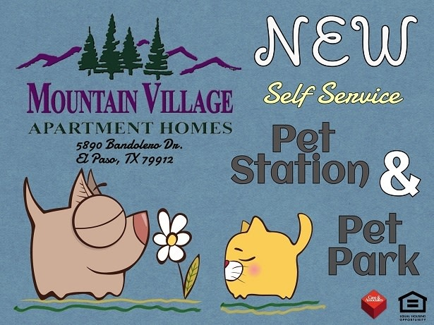 New Pet Station and Pet Park