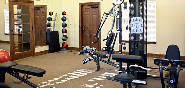 Workout facilities in Amarillo apartments