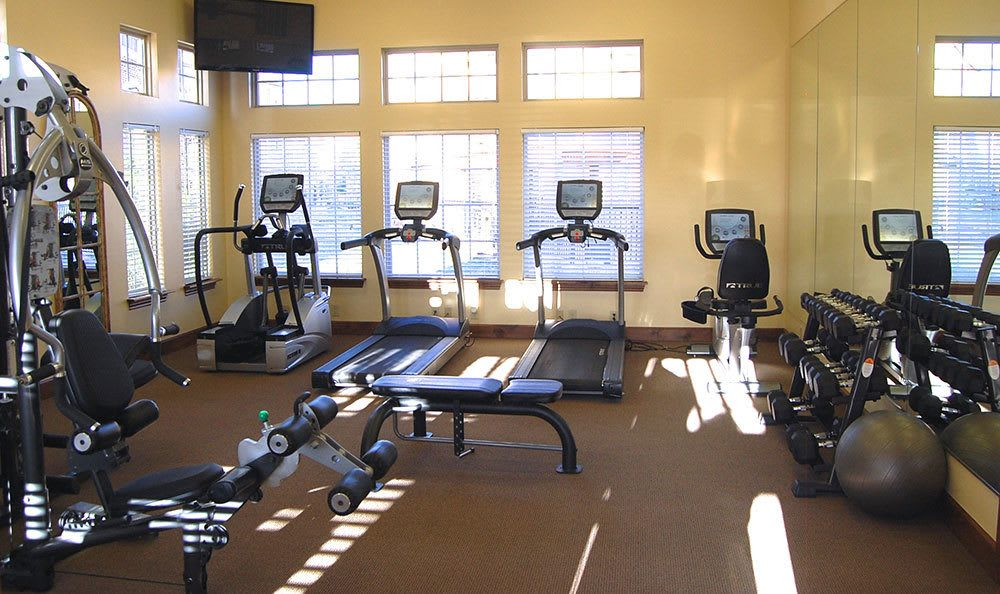 Amarillo apartments with a 24 hour fitness center