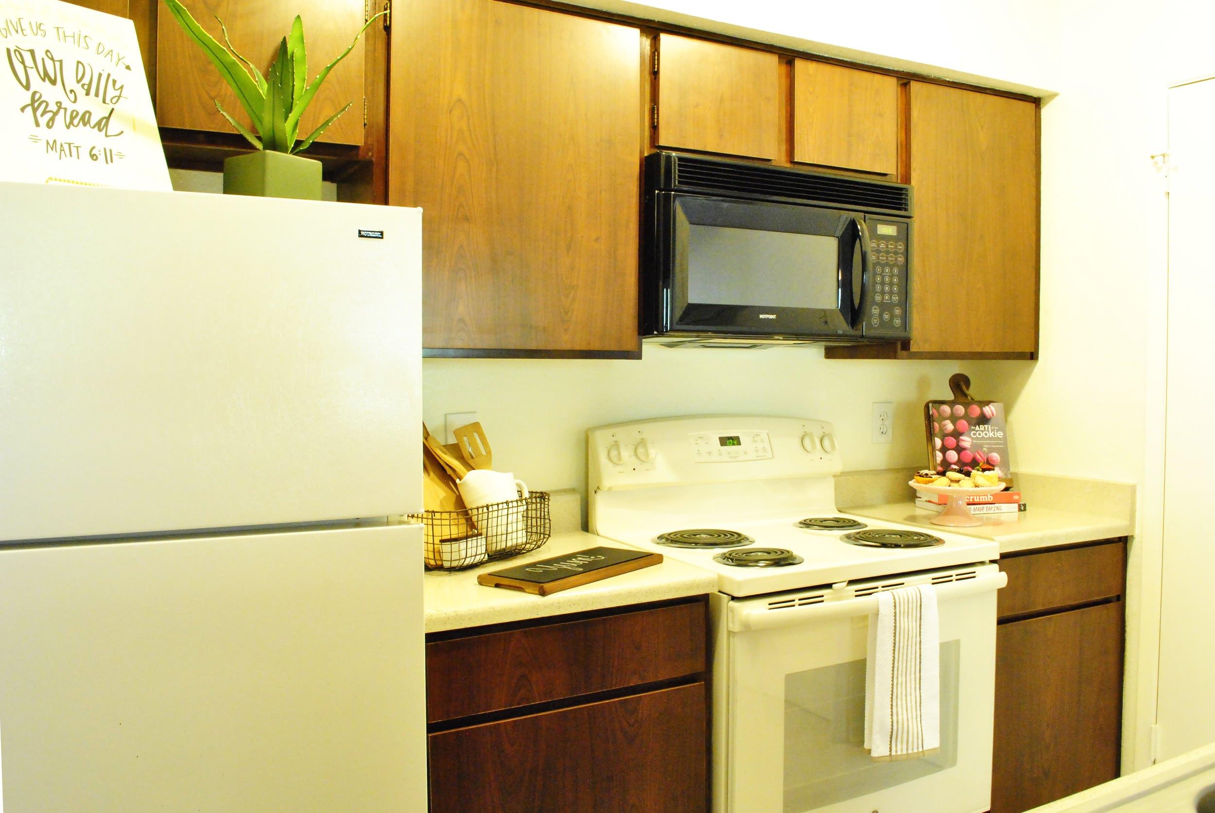 two bedroom kitchen el paso apartments