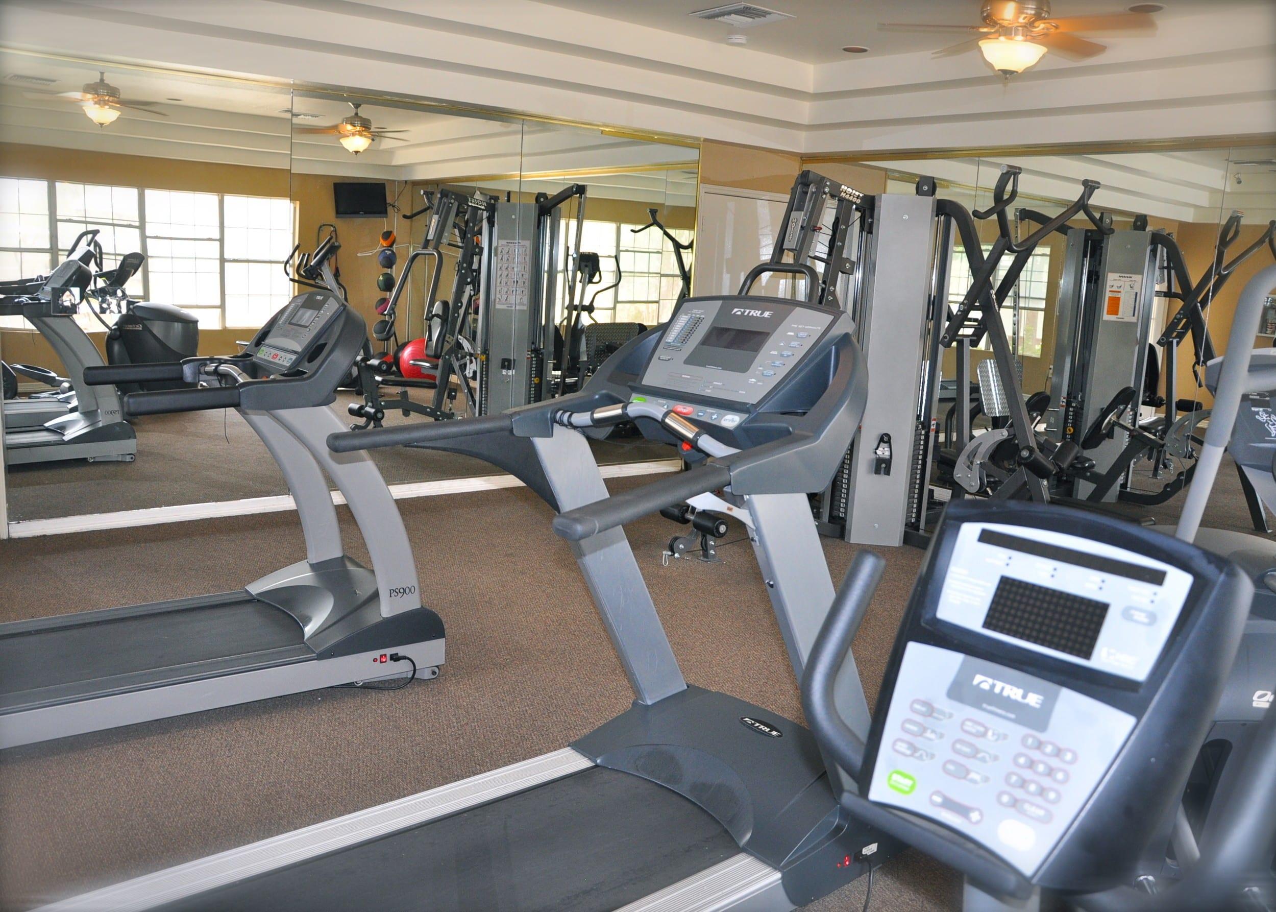 Gym El Paso Apartments
