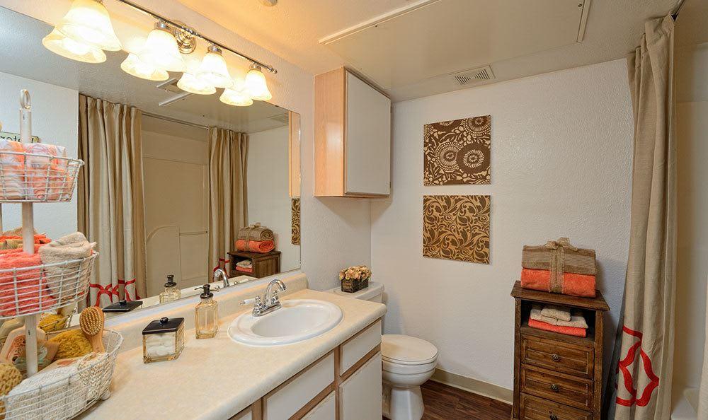 Kitchen at El Paso apartments