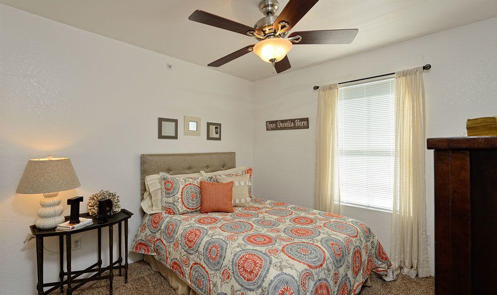 Bedroom at El Paso apartments