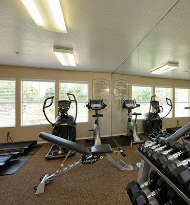 Fitness center in El paso apartments