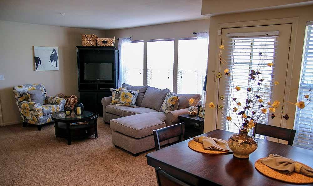 Large living rooms at Winchester Apartments