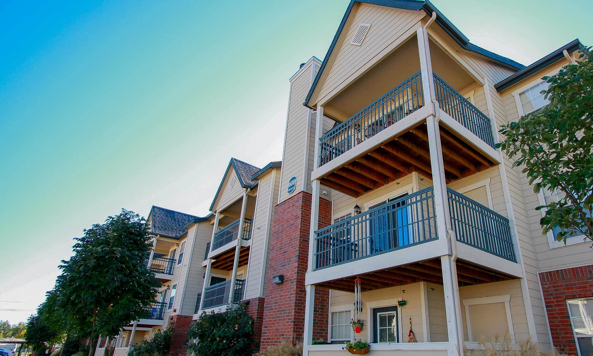 The sparkling swimming pool at our apartments in Amarillo will enchant you