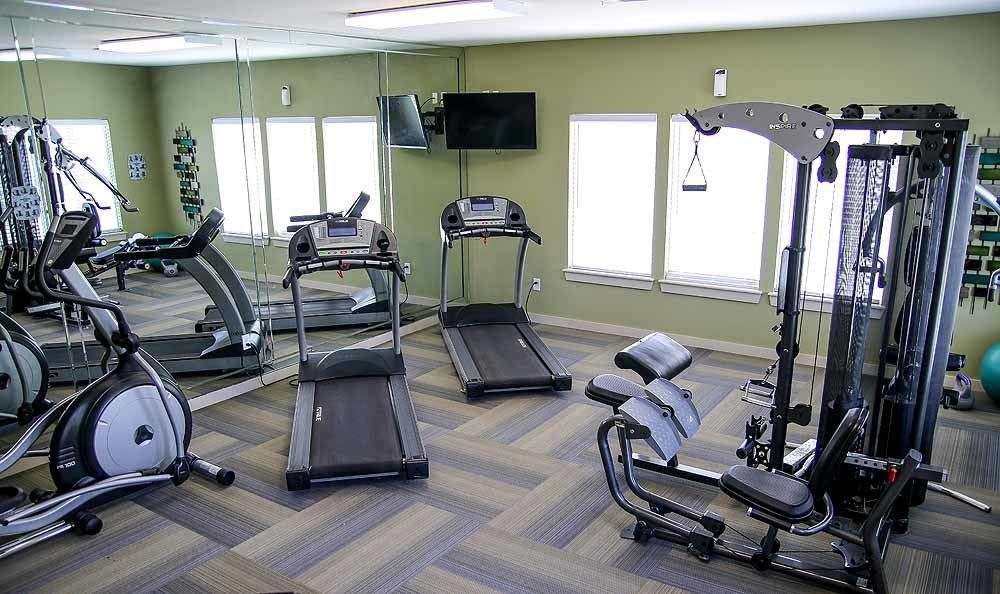 Fitness facility at Winchester Apartments