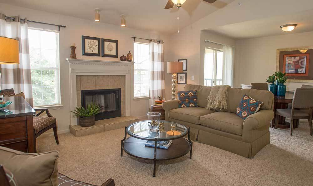 Apartments with large living spaces in Edmond, OK