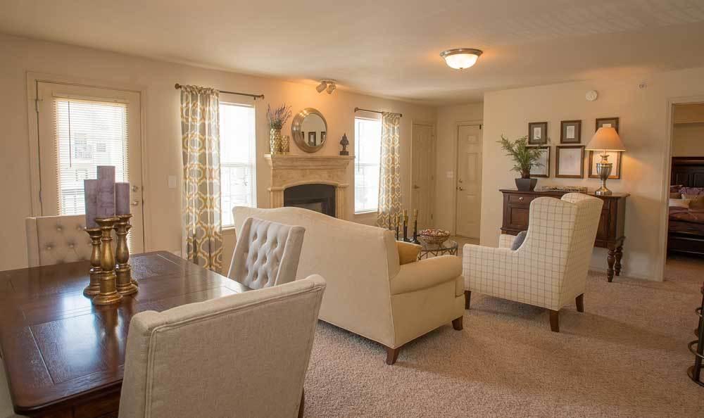 Villas at Stonebridge living spaces