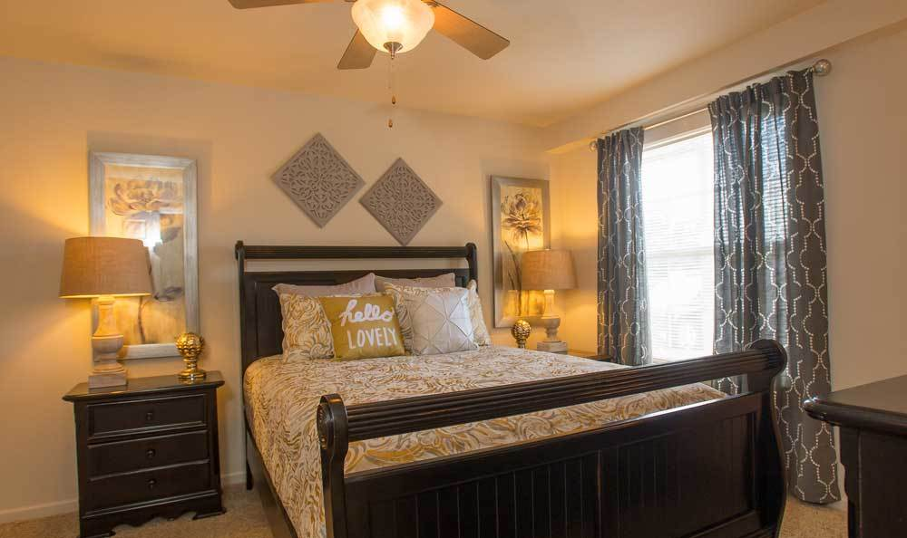 Large bedrooms at Villas at Stonebridge