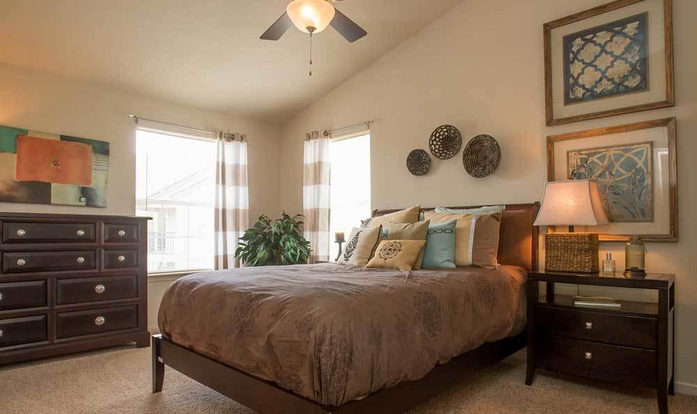 Bedrooms at Villas at Stonebridge