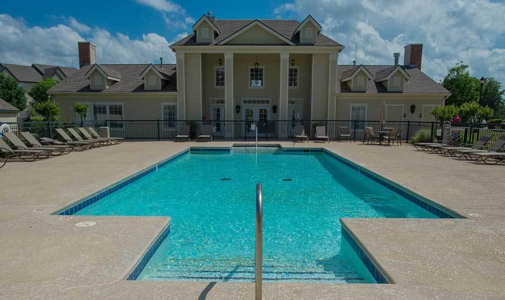 Relax at the pool at Villas at Stonebridge