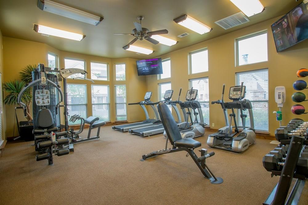 Tuscana Bay Apartments fitness facility