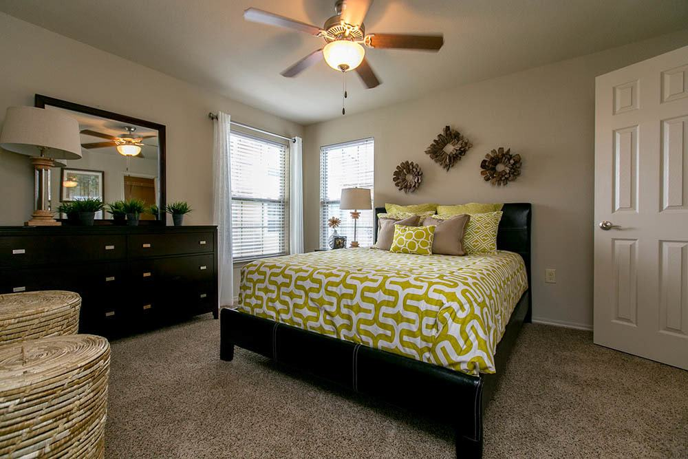 Tuscana Bay Apartments feature spacious bedrooms