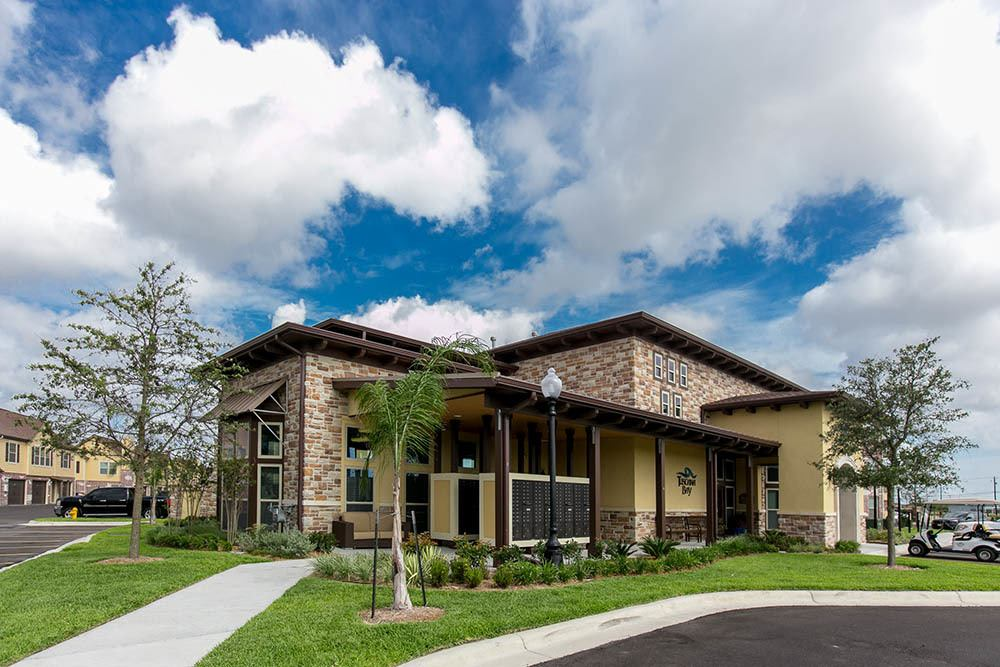Tuscana Bay Apartments leasing office in Texas