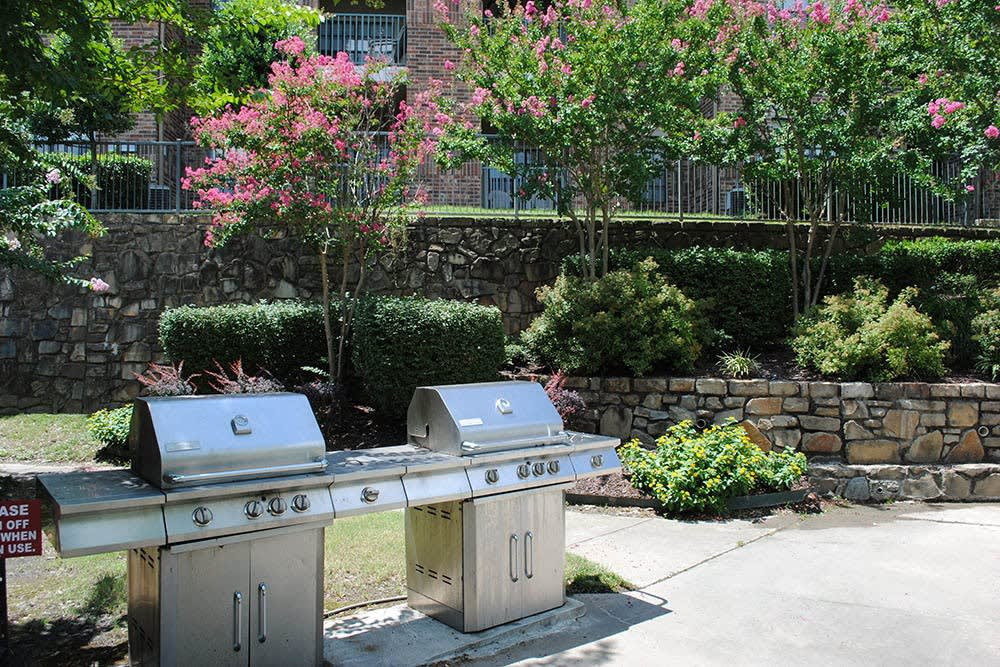 Enjoy BBQing on our grills at Arbors of Pleasant Valley