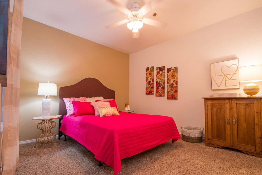 Bedroom at Arbors of Pleasant Valley