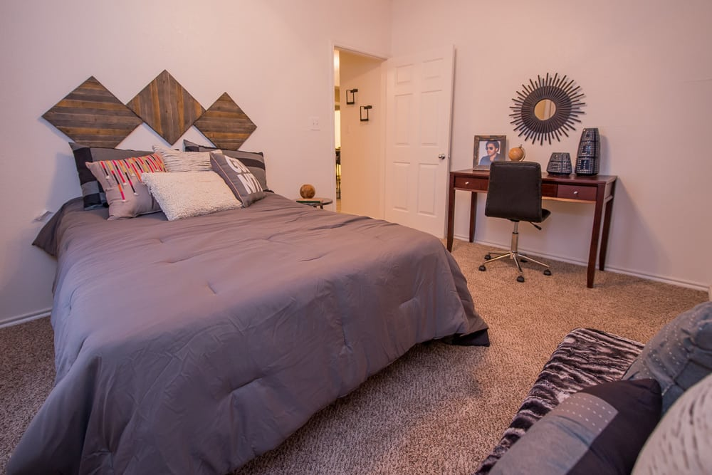 Bedroom at apartments in Arbors of Pleasant Valley