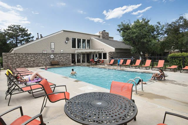 Wichita apartment swimming pool