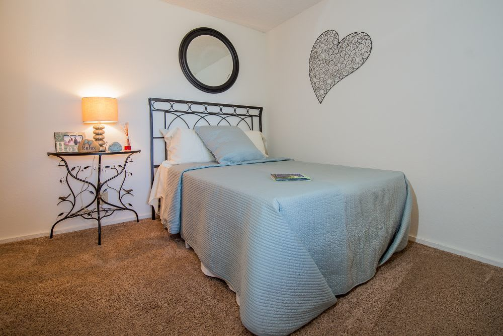 Bedroom at Fox Run Apartments