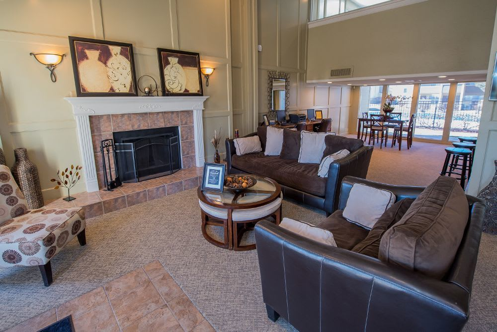 Clubhouse at Fox Run Apartments