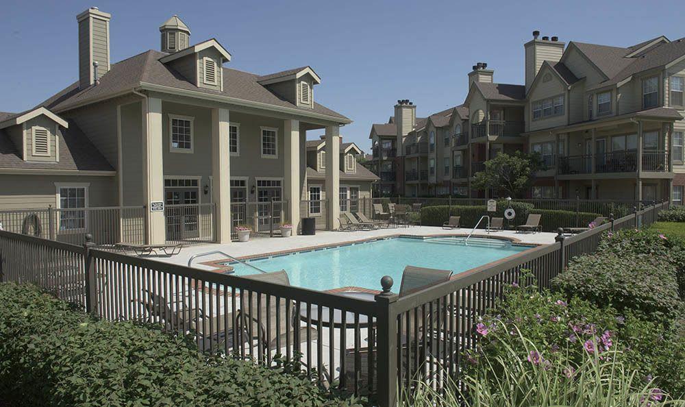 Beautiful pool at Newport Wichita