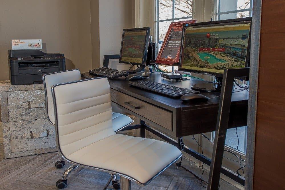 Study space at Newport Wichita