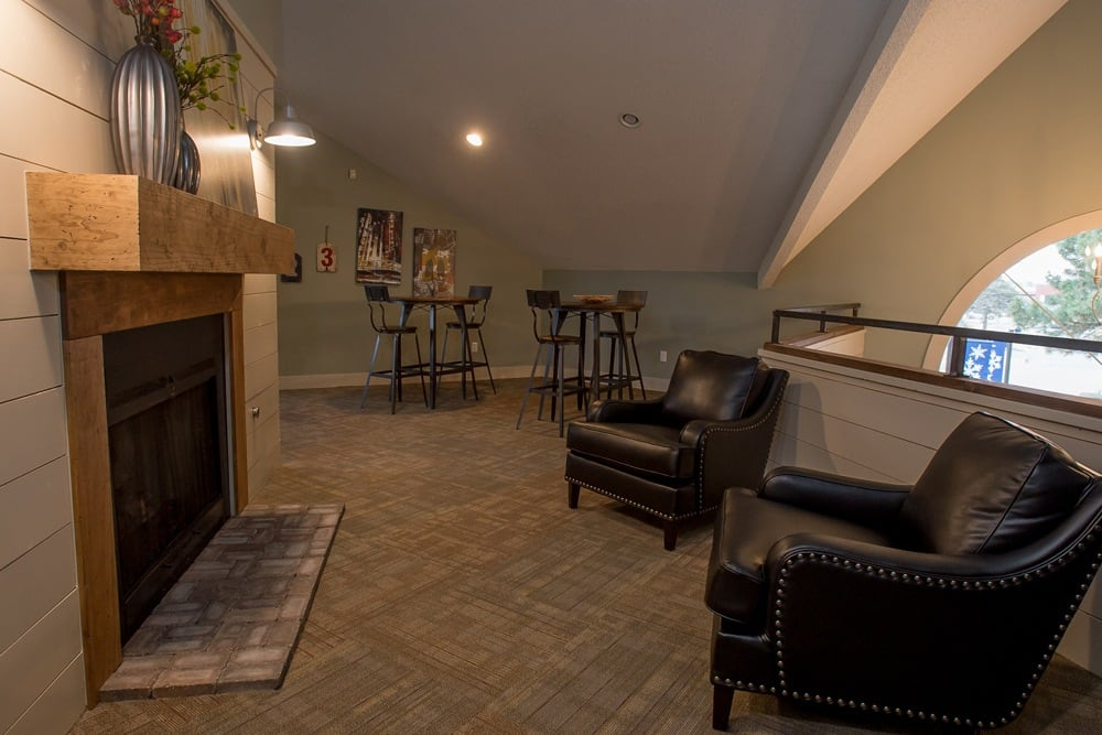 Raintree Apartments offers a spacious living room in Wichita, Kansas