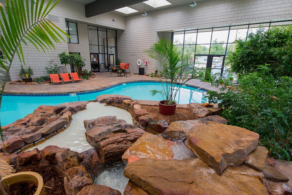 Our apartments in Wichita, Kansas showcase a beautiful swimming pool