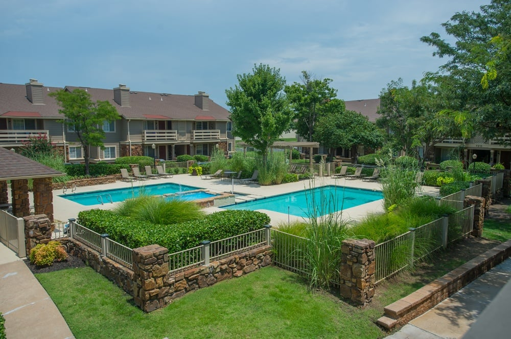 Enjoy our grounds and pool at Chardonnay