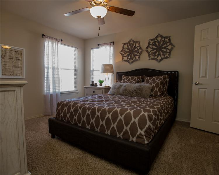 Our apartments feature spacious floor plans in Yukon, OK