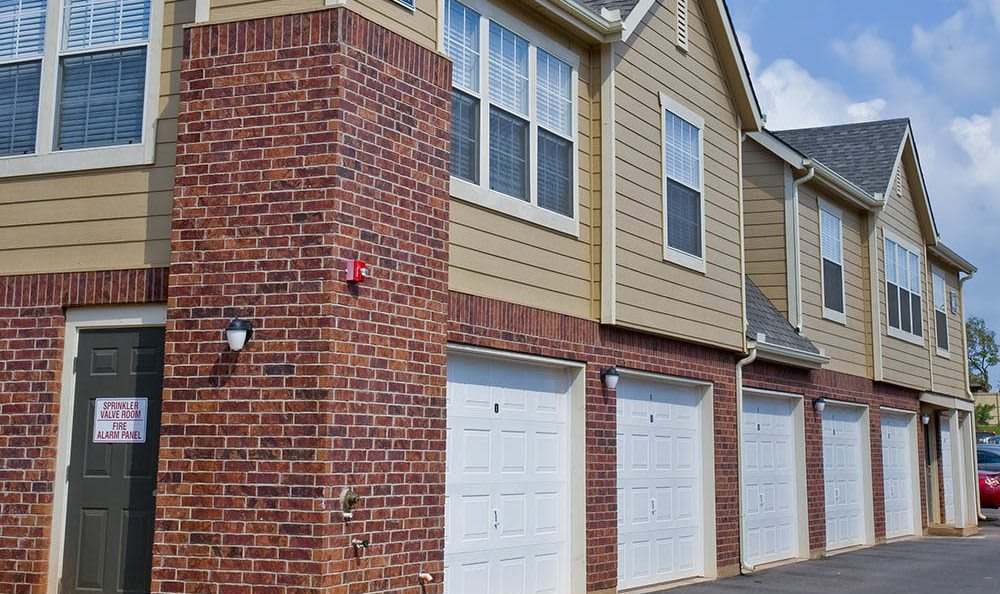 Our Edmond property features garages