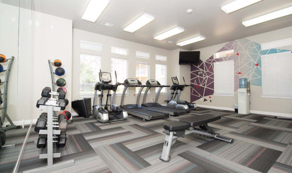 Fitness facility at Fountain Lake