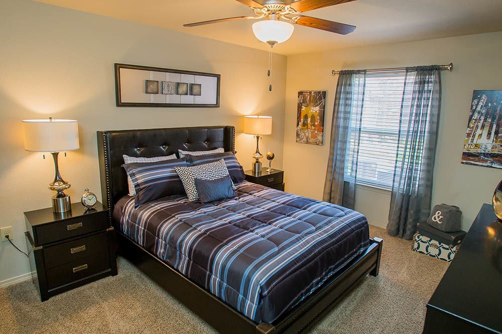 Our apartments in Norman feature large bedroom spaces