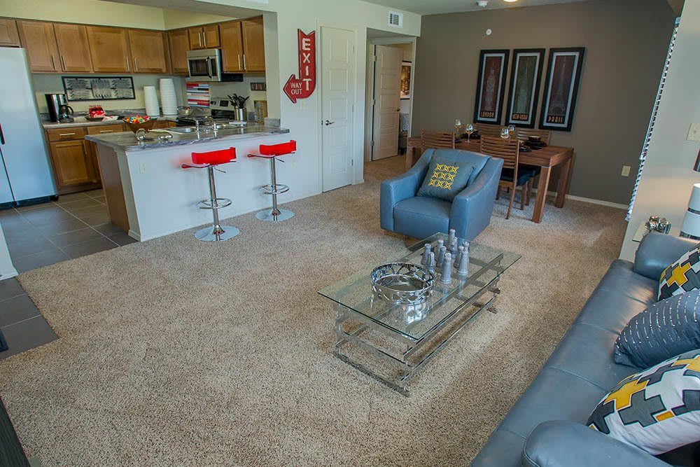 Our apartments in Norman feature large floor plans