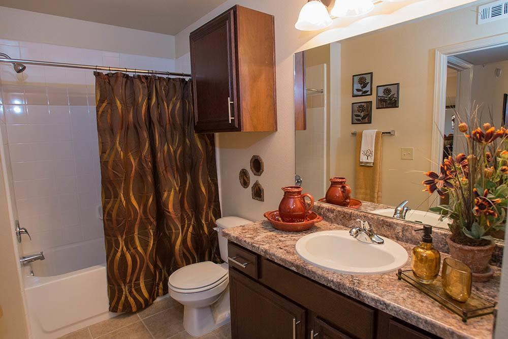 Bathroom at Park at Tuscany in Oklahoma City