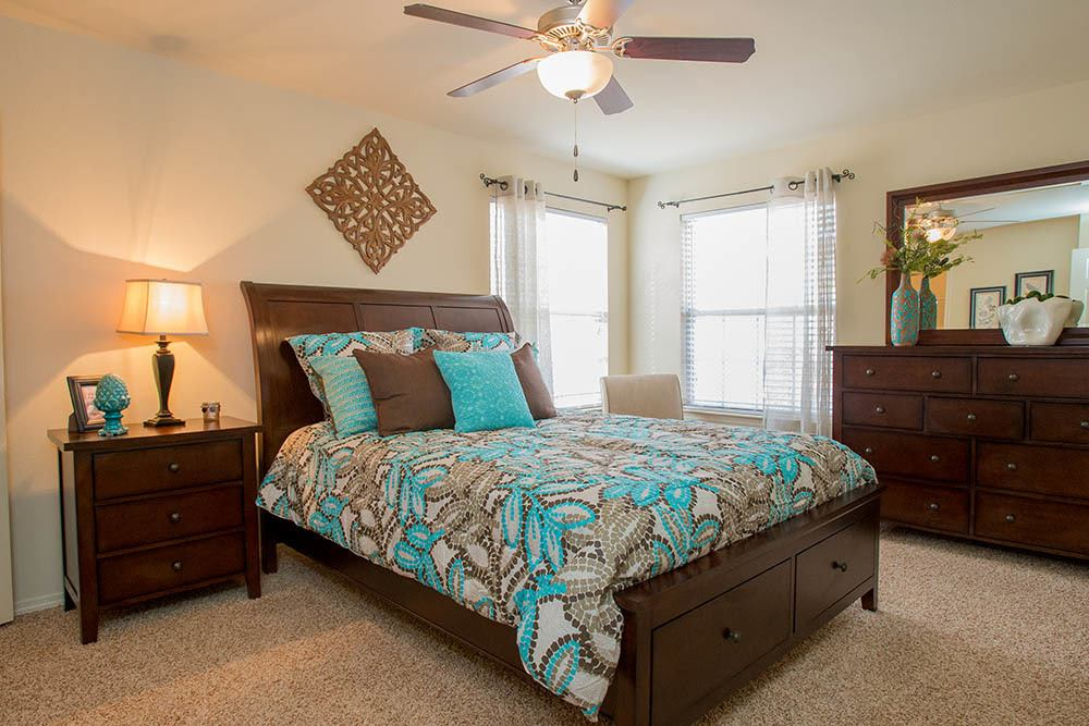 Park at Tuscany features spacious bedrooms in Oklahoma City